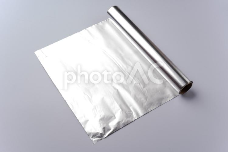 アルミホイルの写真