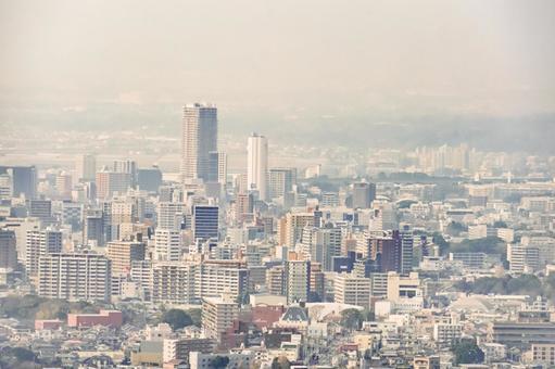 쿠루 메시의 고층 빌딩 군