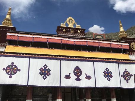 세라 사원, 라사, 티벳, 중국.