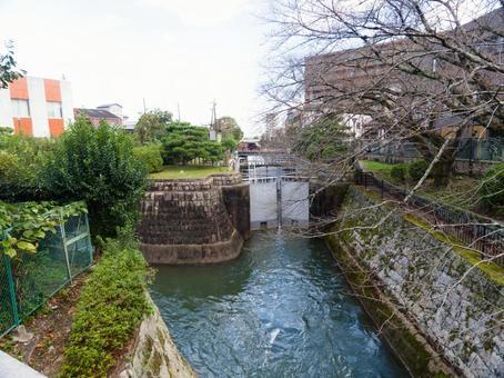 Lake Biwa Canal Otsu Gate
