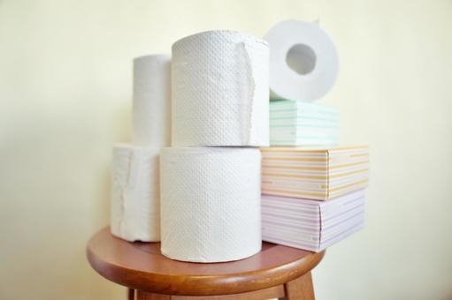 Toilet paper daily necessities