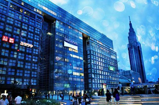 Shinjuku Station New Shinmin South Exit