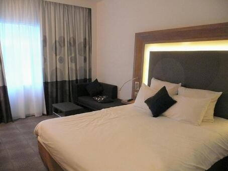 Monotone calm bedroom
