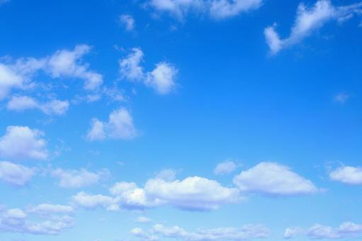 Blue sky and clouds 10