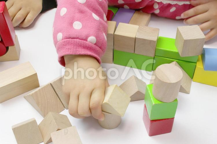 積み木の写真