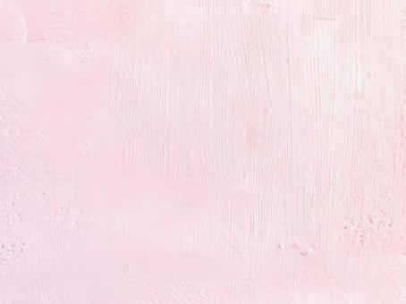 布面油畫粉紅色【粉紅色背景素材 亮色溫柔可愛少女質感漆底手寫】