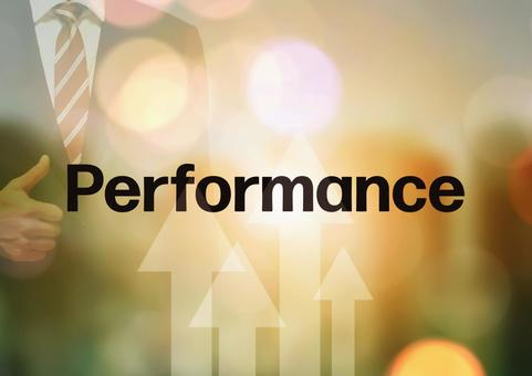 Businessmen and performance