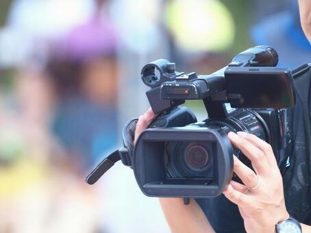 업무용 비디오 촬영