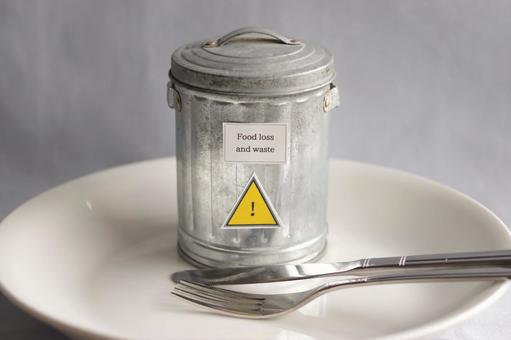 Food Disposal Issues Letters and Warning Signs