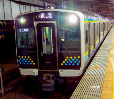 E131 series 0 series R03 formation & R04 formation Uchibo line / Sotobo line test run return forwarding (Chiba station)