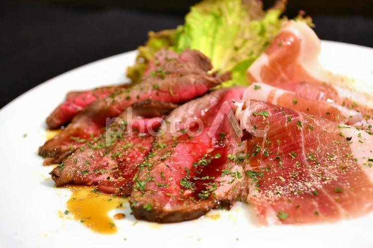 牛肉のタリアータの写真