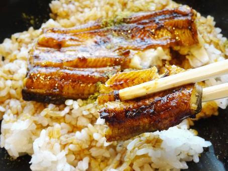 Domestic eel eel bowl