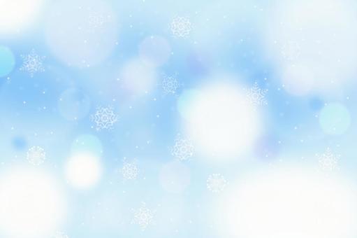 Fantastic winter image background