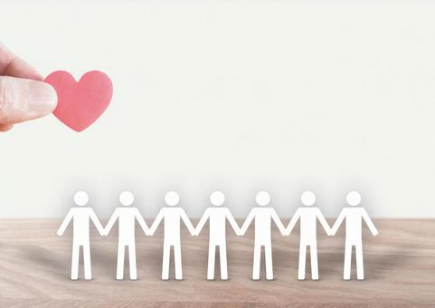 一顆小小的心靈與人之間的聯繫