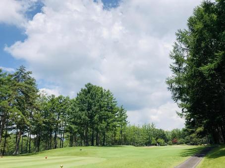 Golf course ladies tee