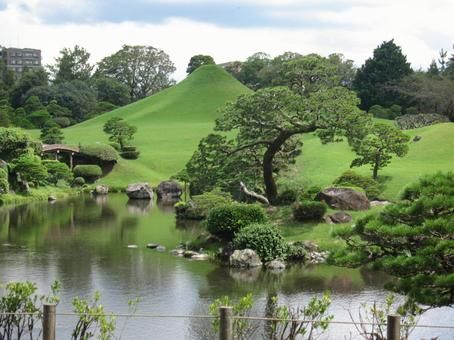 스이젠지 공원