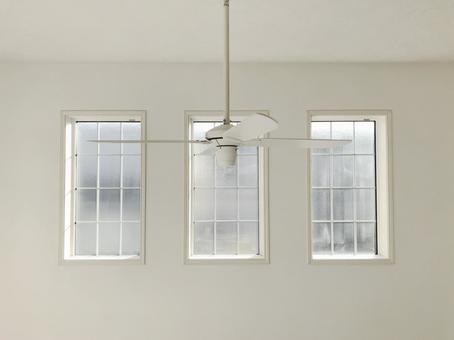 Windows and ceiling fans