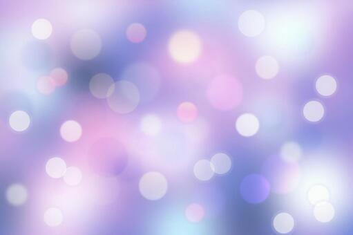 Glitter ball bokeh round bokeh illumination Christmas
