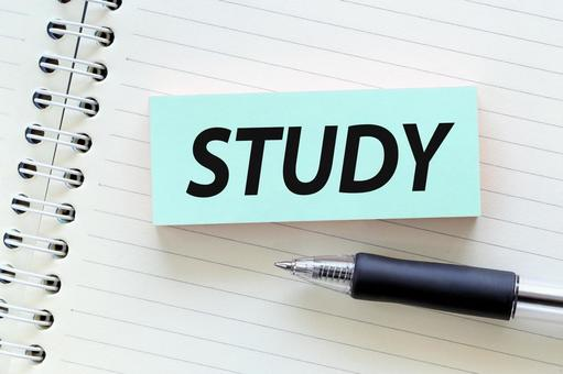 STUDY study image material card