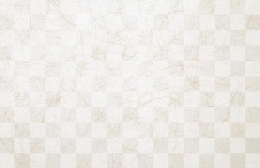Checkered Japanese paper texture background material
