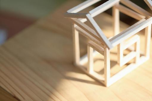 집의 모형 목조 주택 이미지 3
