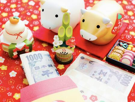 New Year's gifts, New Year's accessories and Ox year