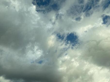 겨울 하늘