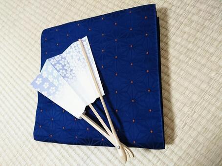 Japanese · Belt and folding fan