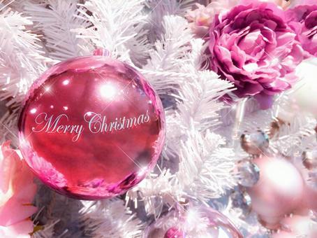 White pink Christmas