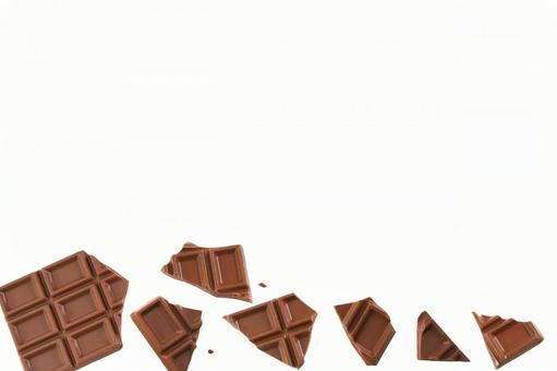 Chocolate cutout psd16