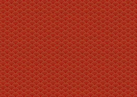Qinghai wave pattern red