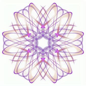 Fantasy hexagonal PSD background through 20201006_009
