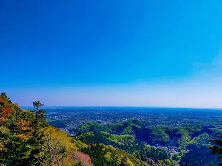 신록의 카오산 맑은 풍경