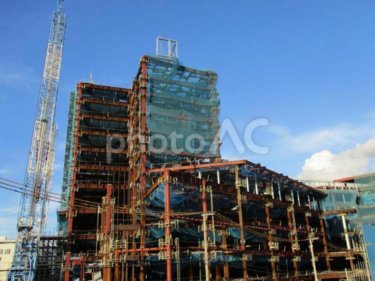 工事現場 イメージの写真