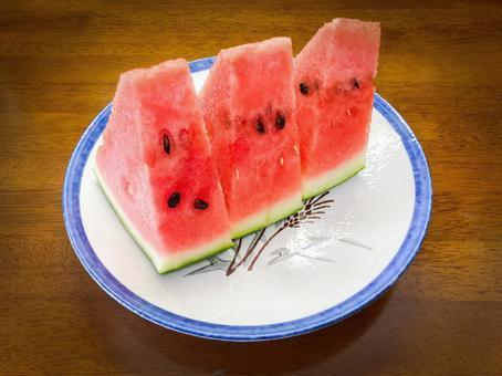 Watermelon / Watermelon / Cut fruit / Summer snack / Summer staple / Food