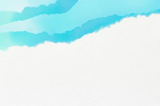 Wave summer background white and blue