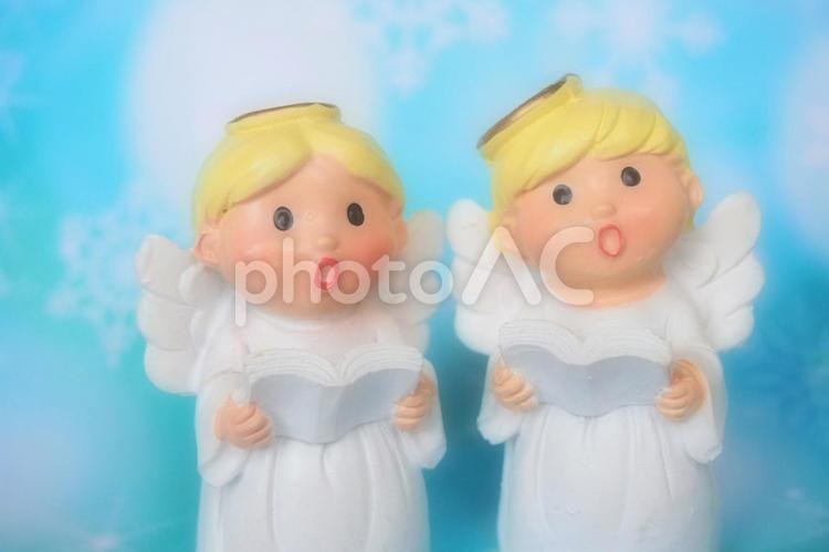 ソフトに撮影した天使の歌声の写真