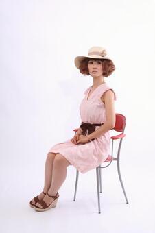 Sitting lady 3