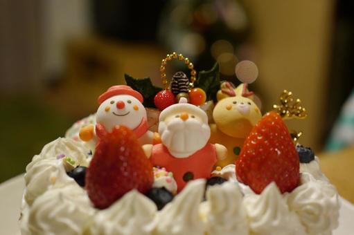 Handmade Christmas cake