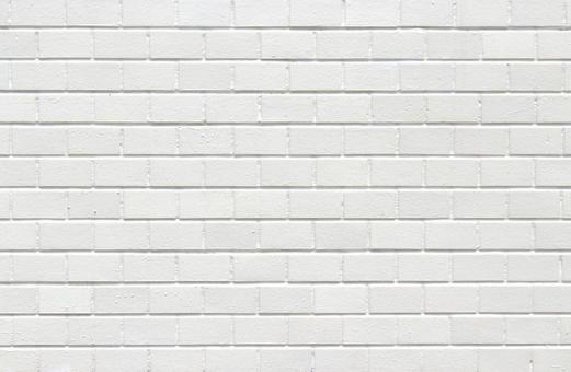 Block wall white paint
