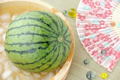 Summer image-chilled watermelon