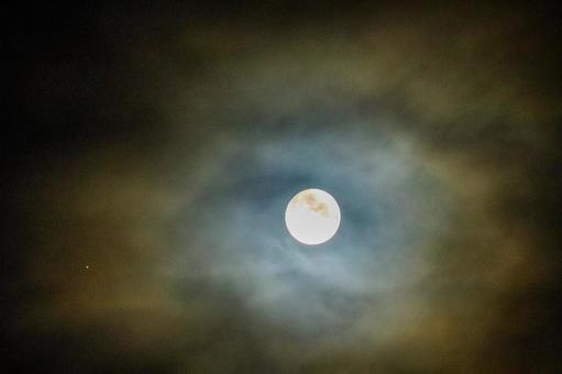Oborotsuki Full moon Mid-autumn moon