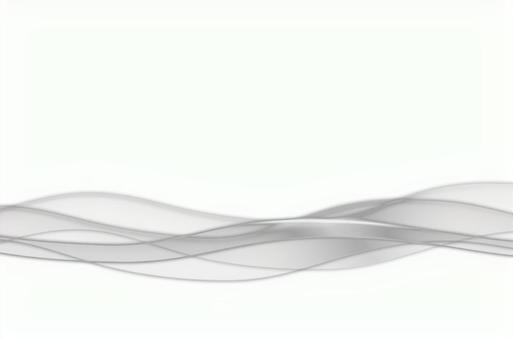 Monotone abstract wave wave image white background