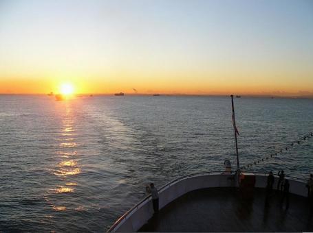 Asahi Sunrise Horizon Cruise Return to Japan