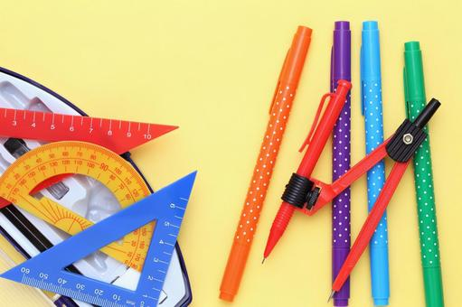 Pens and rulers