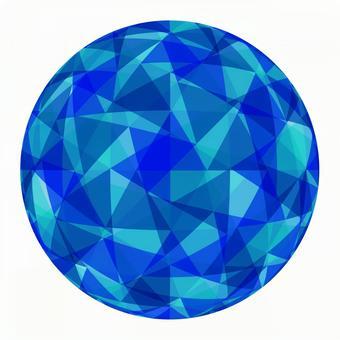 Geometric pattern sphere