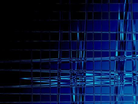 Glass texture transparent glass blue