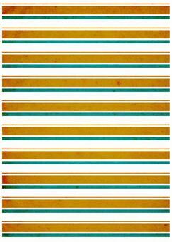 Grunge texture Horizontal border Orange x green