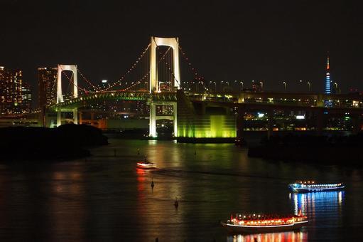 Rainbow Bridge Night view