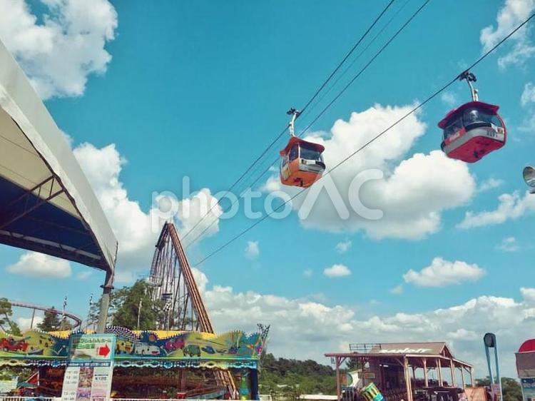 遊園地の写真